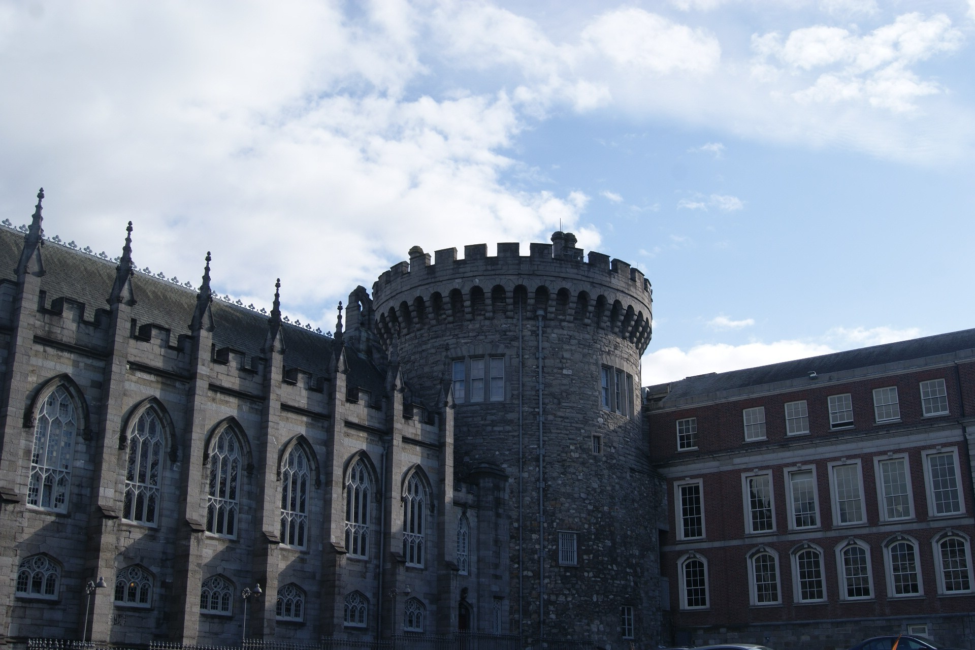 photo Irlande Dublin Dublin Castle chateau