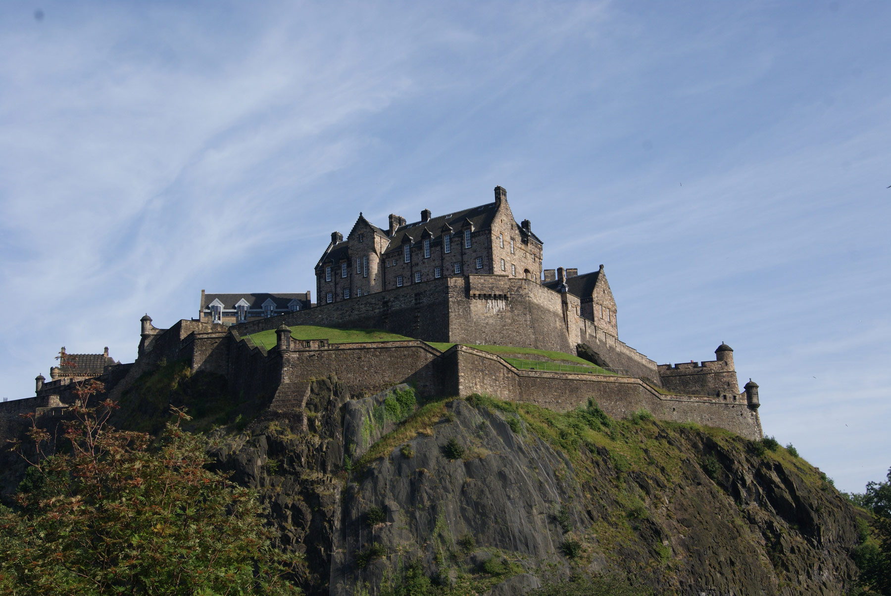photo Ecosse Edimbourg ville Castle Chateau