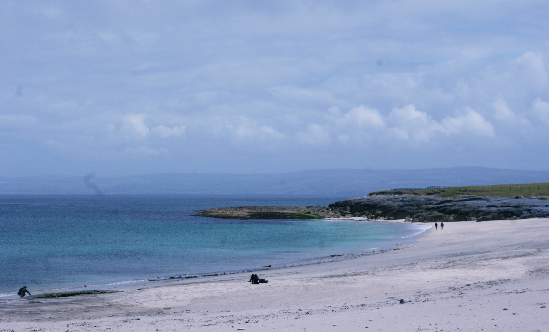 Photo Irlande Wild Atlantic Way Plage Sable Blanc
